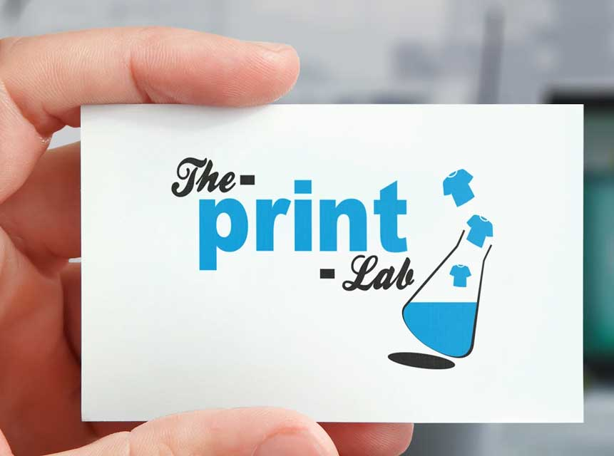business card printing example